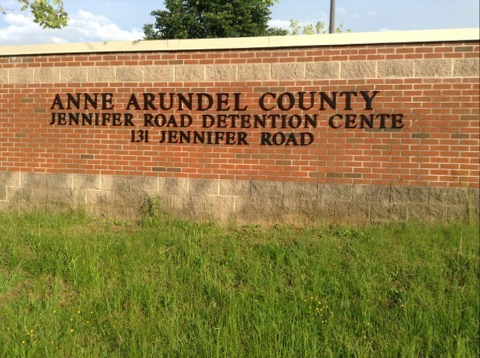 Anne Arundel County Detention Center located in Annapolis MD (Maryland) 2