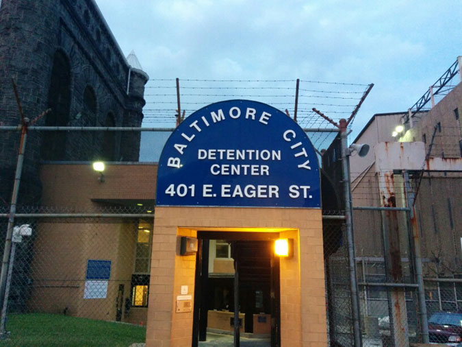 Baltimore City Detention Center located in Baltimore MD (Maryland) 2