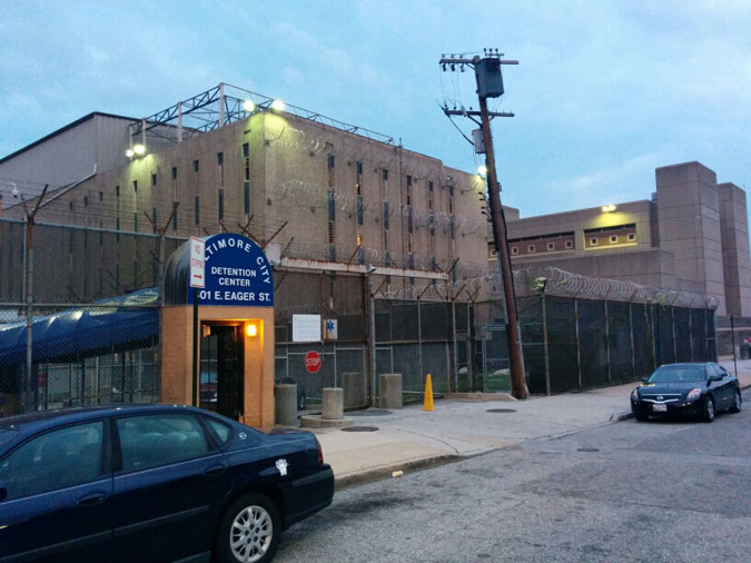 Baltimore City Detention Center located in Baltimore MD (Maryland) 4