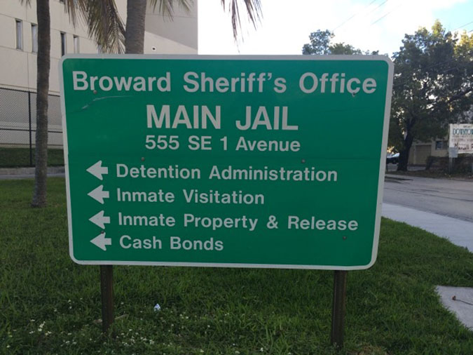Broward County Jail Central Intake Booking located in Ft. Lauderdale FL (Florida) 3