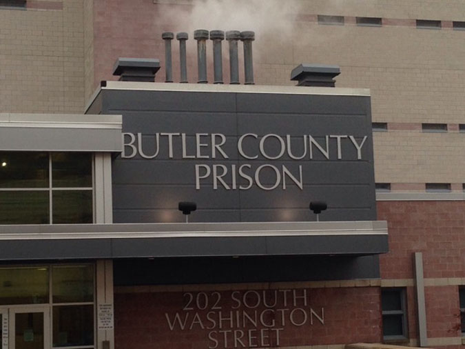 Butler County Prison located in Butler PA (Pennsylvania) 2