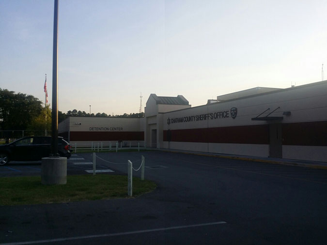 Chatham County Detention Center located in Savannah GA (Georgia) 1