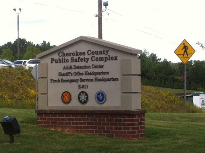 Cherokee County Jail located in Canton GA (Georgia) 2