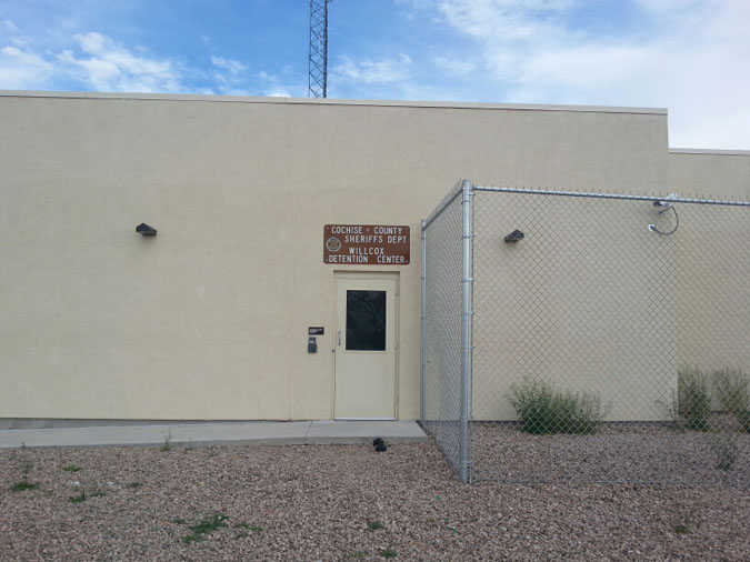 Cochise County Jail Wilcox Jail located in Wilcox AZ (Arizona) 2