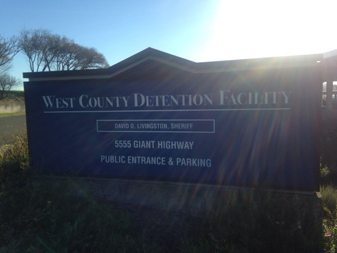 Contra Costa County JailWest County Detention Facility located in Richmond CA (California) 2