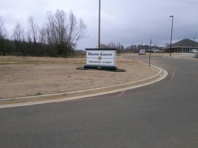 DeSoto County Jail located in Hernando MS (Mississippi) 2