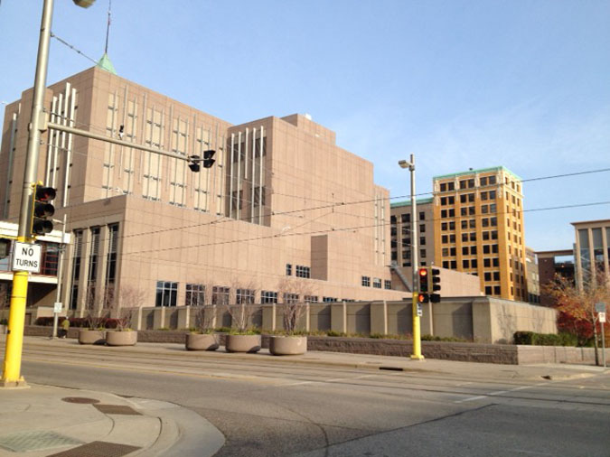 Hennepin County Jail Public Safety Facility located in Minneapolis MN (Minnesota) 4