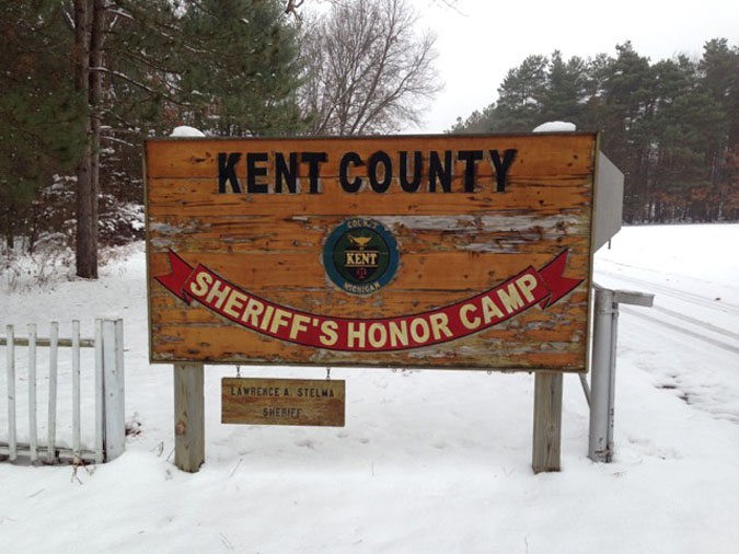 Kent County Honor Camp located in Gowen MI (Michigan) 2
