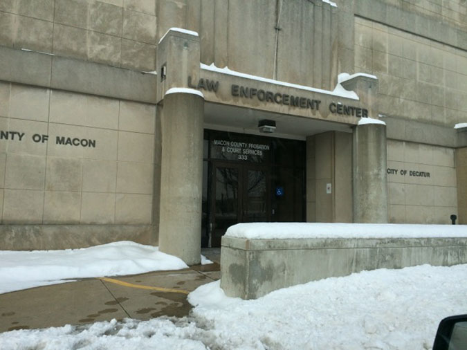 Macon County Jail located in Decatur IL (Illinois) 1