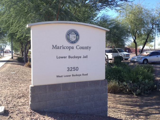 Maricopa County Lower Buckeye Jail located in Phoenix AZ (Arizona) 2