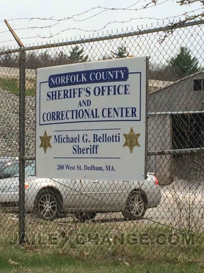 Norfolk County Jail Correctional Ctr located in Dedham MA (Massachusetts) 2