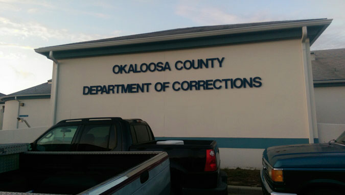 Okaloosa County Jail located in Crestview FL (Florida) 2
