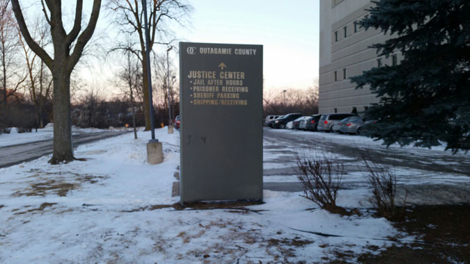 Outagamie County Jail located in Appleton WI (Wisconsin) 2