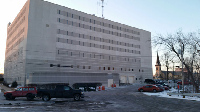 Outagamie County Jail located in Appleton WI (Wisconsin) 3