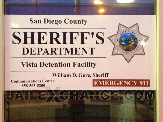 San Diego County Jail Vista Detention Facility located in Vista CA (California) 2