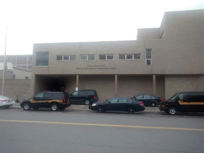 Schenectady County Jail located in Schenectady NY (New York) 1