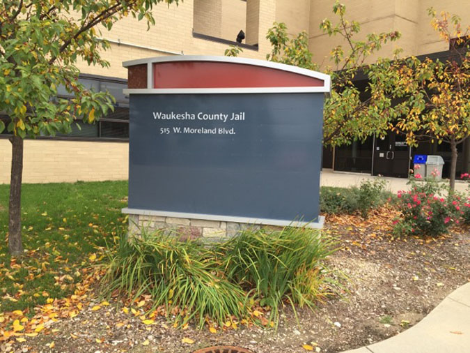 Waukesha County Jail located in Waukesha WI (Wisconsin) 2